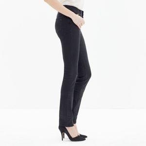 Madewell jeans Dark Gray/ Light Black Alley